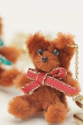 DIY Handmade Very Cute Bear🐻 Keyrings