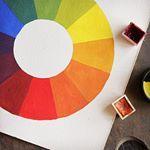 فيديو عجلة الالوان نزل شوفو الفيديو وقولولي رأيكم واهم شيء طبقوه لانه اساسي في التعامل مع الالوان موفقين Tech Logos School Logos Instagram Pictures