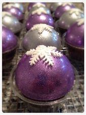 Pastelitos de esferas   – Cupcakes cukis