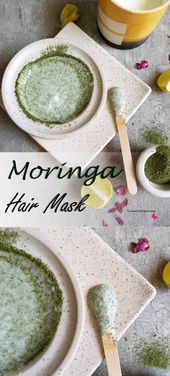 The way to use moringa leaves for dandruff & scalp pimples – Important Ayur | The Ved of Life