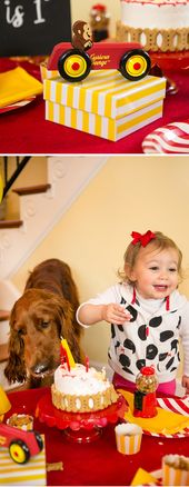 A Puppy Pawty: Curious George Turns 1! | Pizzazzerie