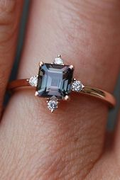 27 beautiful sapphire engagement rings ❤ sapphire engagement rings rose gold ……