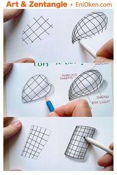 Lernen Sie, wie Sie dreidimensionale Formen mit Rastern erstellen können • en