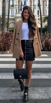 Über 30 hübsche Winteroutfits, die Sie bei Wiederholungen tragen können. mode winter