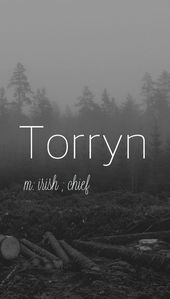 Torryn – strong baby boy name!  Pronounced: Tore-IN – Unique Baby Names