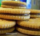 2 Kids and Tired Cooks: Rolo Stuffed Ritz Crackers
