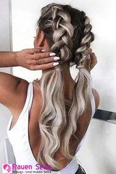 Stilvolle und attraktive Frisur DIY Crafts .Net