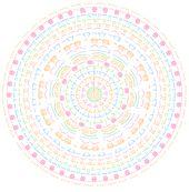Mandala häkeln – Gratis Anleitung für magische Wohndeko