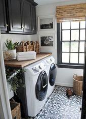 59+ Marvelous Black Kitchen Cabinets Design Ideas