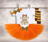 Daddy's Little Butterball – Turkey Outfit – Girls Thanksgiving Shirt – Babys 1st Thanksgiving – Fall Baby Outfit – Thanksgiving Tutu – Etsy – Made With Love