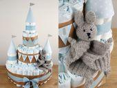 DIY – Steffi, comment puis-je faire un gâteau de couches?   – DIY und Selbermachen