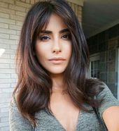 #Beindruckende #Black Hair medium length #für #Haar #Ideen #Schwarze