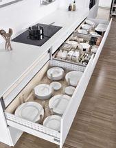 Neat Kitchen Organization and Storage Ideas