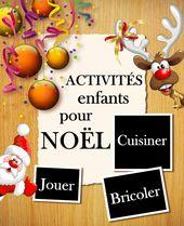 Livre d'activités sur Noël à télécharger