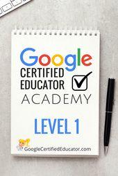 The Google Certified Educator Academies