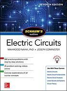 Schaum S Outlines Electric Circuits Electric Circuit Electric Circuit Analysis Circuit