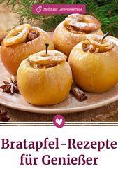Bratapfel-Rezepte: klassisch, einfach und schnell
