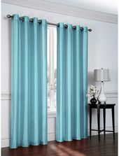 Ebern Designs Belterra Faux Silk Sheer Grommet Curtain Panels