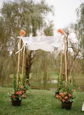 15 cool wedding shuppah ideas – aSelbermachen