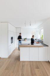 Weiße Küche | Küchenplanung | Küche planen | modern | einfach Massivholz | ….