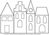 Fensterbild: Maisons avec papier calque 3 – Media Workshop Knowledge © 2006-20 …   – Weihnachtsdeko selbstgemacht