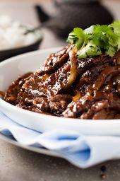 Beef Stir Fry mit Honig-Pfeffer-Sauce
