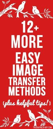 12 einfachere Bildübertragungsmethoden!
