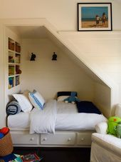 Remodelaholic | 25 Awesome Built-In Beds and Bed N…