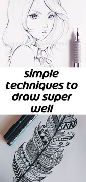 Simple techniques to draw super well