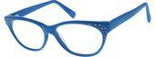Blaue ovale Brille # 104016 | Zenni Optische Brillen  – Accessorize!