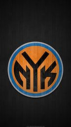 New York Knicks 2017 Nba Mobile Hardwood Team Logo Wallpaper Alt2 New York Knicks Basketball Wallpaper Nba Wallpapers