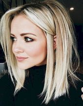 17 Most Delightful Straight Hairstyles Blonde Long