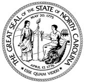 The Design Of North Carolina S State Seal Officially Called The