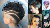 Unterschnittene kurze Pixie-Frisuren – Unterschnittene Frisuren 2018