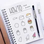 60 Find out how to Doodle Tutorials for Your Bullet Journal