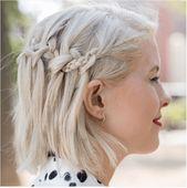 27 schöne und frische Braid Frisur Ideen für kurze Haare – Neue Damen Frisuren