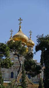 Jerusalem Maria Magdalena Kirche Taj Mahal Landmarks Lamp Post
