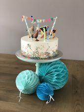 Dierentaart jongen 2 jaar. Animal cake boy 2 years. – Birthday party