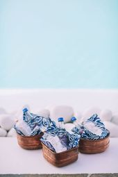 Indigo Blue and Copper Wedding Inspiration in Mykonos – Modern Wedding
