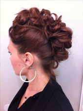 Mohawk updo.. By me on me  – Makeup & hair  ideas