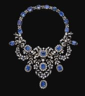 Sapphire and diamond necklace, late 19th century |…
