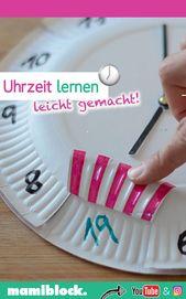 Learn the time – Kinder fördern