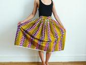 DIY jupe en wax – Voir midi à sa porte – DIY, couture et vie sturdy
