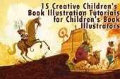 Kinderbuchillustrationen werden immer …