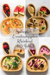 Ernährungsplan Kleinkind (1,5 Jahre)   – KOCHEN FÜR KINDER  | kidfriendly food
