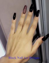 73 Best Acrylic Coffin Nails Ideas With Dark…