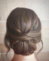"""Eva Crowley Hair auf Instagram: """"Irgendwie rückgängig gemacht, ein bisschen Textur, aber immer noch ein Upstyle"""". . . . #Hochzeitshaar #Brauthaar #Strukturhaar #undone #upstyle #drystyle #lovekm """""""