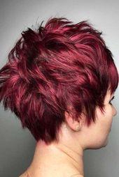 Werten Sie Ihr kurzes rotes Haar auf, #hair #red #redhairstylesshort #short #Upgrade
