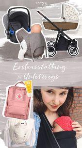 Baby Carrier Baby Erstausstattung für Unterwegs | Was braucht man alles wenn man mit einem N...