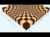How to Create an End Grain Wood Cutting Board With a Remarkable 3-D Optical Illusion at the Center